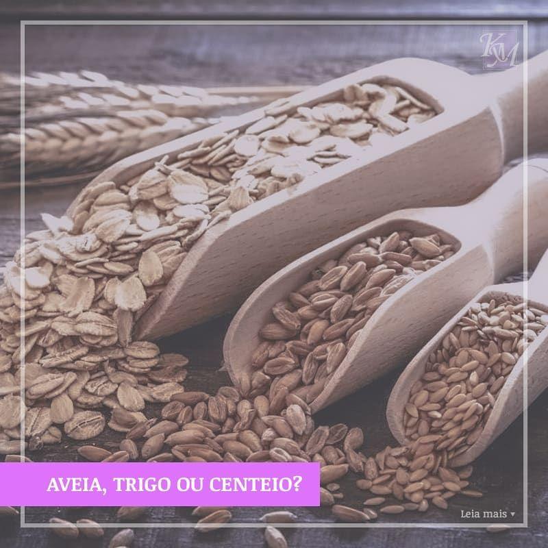 aveia e trigo