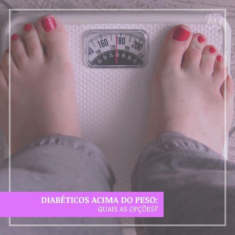 diabeticos a cima do peso